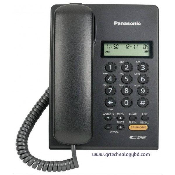 Panasonic Caller ID Set KX-T7705 Black Image