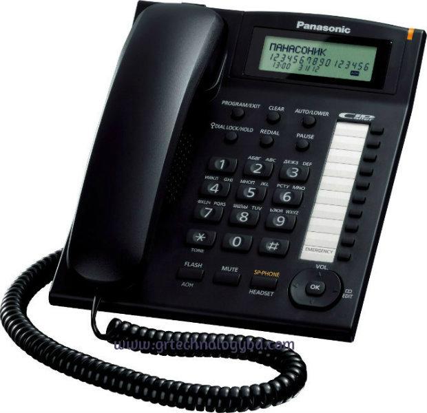 Panasonic-KX-TS-880-BLACK Image