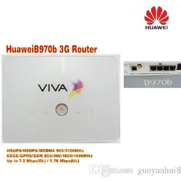 Huawei B970b 3G wireless Router Image