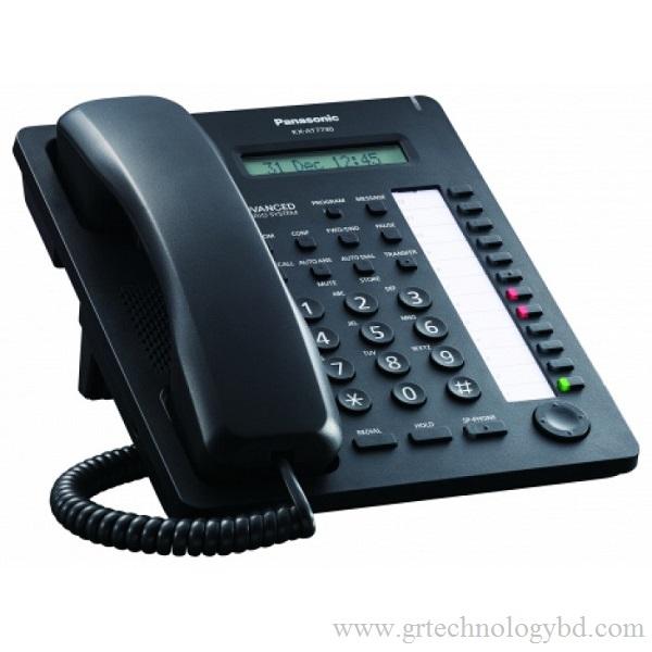 Panasonic KX AT7730 SX Black Image