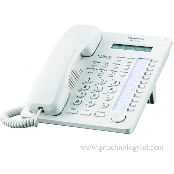 Panasonic KX AT7730 SX White Image