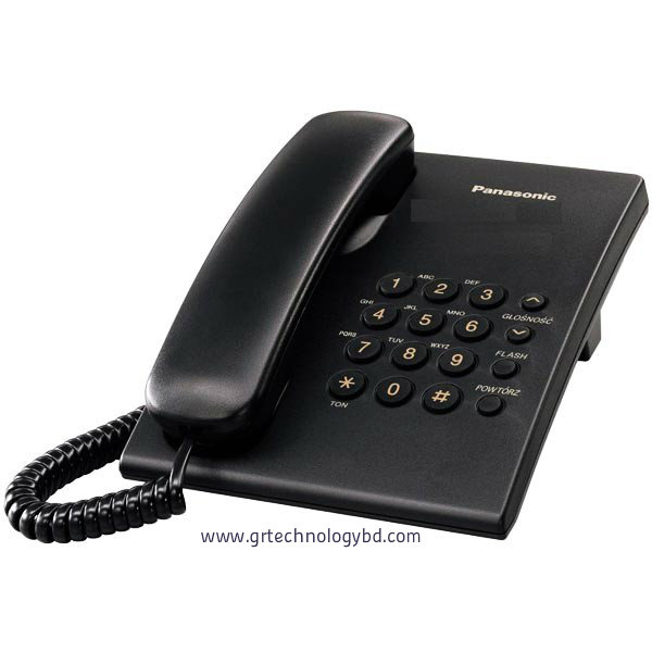 Panasonic-KX-TS-500 Black Image
