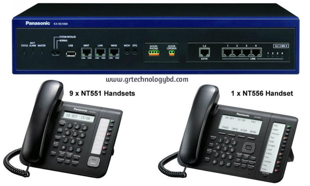 Panasonic KX-NS300 IP PBX Original Image