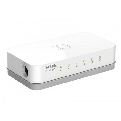 D-Link DES-1005 C 5 Port 10/100M Unmanaged Switch Image