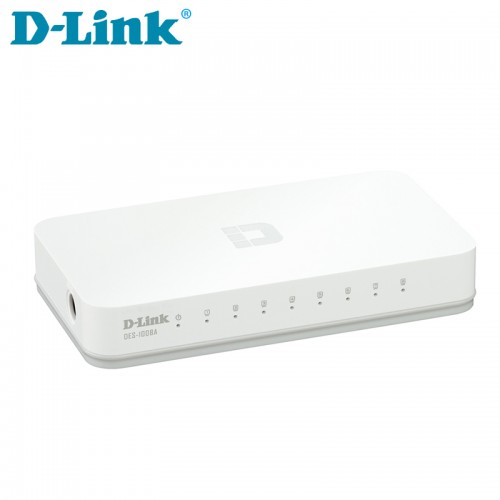 D-Link DES-1008 C 8-port 10/100M Unmanaged Switch Image