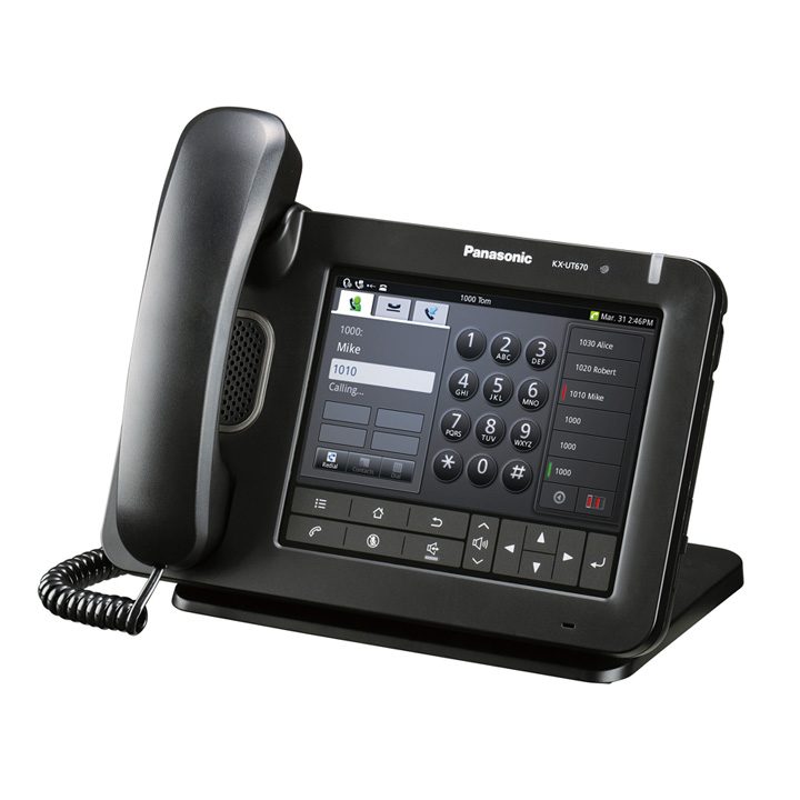 Panasonic IP Phone KX-UT 670 Image