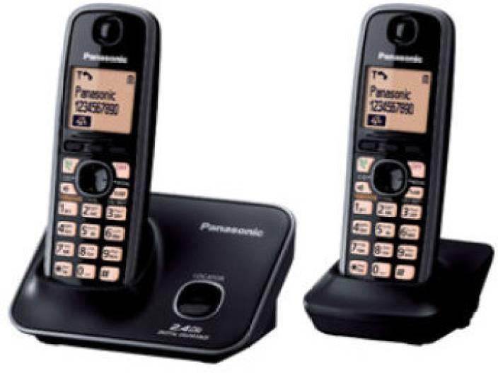 Panasonic Cordless Phone Set-KX-TG-3712 Image