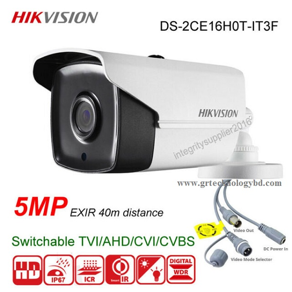 HIKVISION Bullet DS-2CE16H0T-IT3F Image