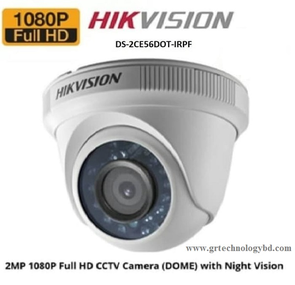 HIKVISION DOME DS-2CE56D0T-IRPF Image