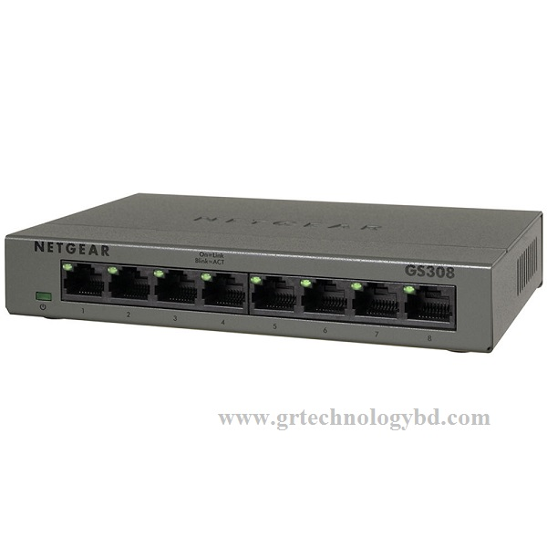 Netgear GS308 8-Port Gigabit unmanaged Switch Image