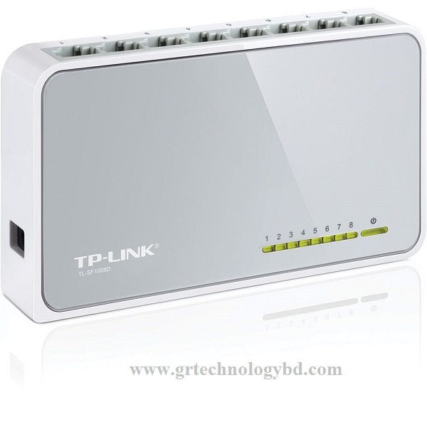 TP-Link SF1008D 8 Port Switch Image